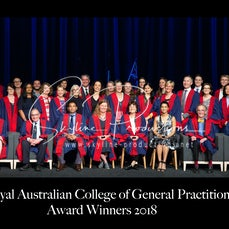 2018 RACGP-Group Photo - These photos were taken at Darling Harbour ICC for RACGP Fellowship ceremony 2018