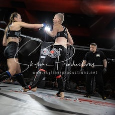 Amie Lloyd vs Julia Schaefer S9 - Photos taken from the Wimp 2 Warrior Finale Series 9 at The Norths in Cammeray at the 5th of July 2019