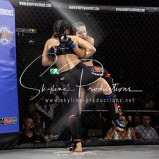 Rebecca Bowman vs Holly De Roy S9 - Photos taken from the Wimp 2 Warrior Finale Series 9 at The Norths in Cammeray at the 6th of July 2019