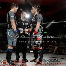 Ben Mace vs Liam Kelly S9 - Photos taken from the Wimp 2 Warrior Finale Series 9 at The Norths in Cammeray at the 6th of July 2019