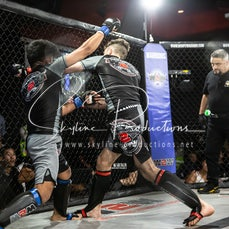 Manish Guatam vs Zac Buchberger S9 - Photos taken from the Wimp 2 Warrior Finale Series 9 at The Norths in Cammeray at the 5th of July 2019
