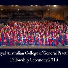 2019 RACGP -Group Photo - These photos were taken at Darling Harbour ICC for RACGP Fellowship ceremony 2019