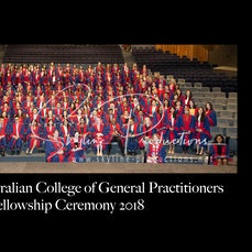 2018 RACGP Group Photo - These photos were taken at Darling Harbour ICC for RACGP Fellowship ceremony 2018