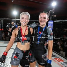 Caitlin Burghall vs Karina Fretwell - Photos taken from the Wimp 2 Warrior Finale Series 9 at The Norths in Cammeray at the 7th of December 2019