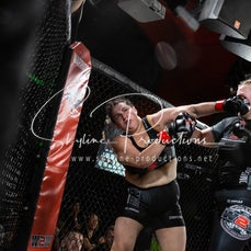 Kirstie Tunstall vs Sophie Swart S4 - Photos taken from the Wimp 2 Warrior Finale Series 4 at The Norths in Cammeray at the 7th of December 2019