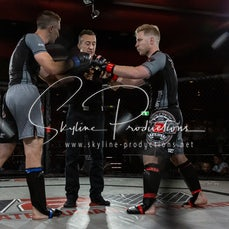 Sam Pemberton vs Michael Bregenhoj - Photos taken from the Wimp 2 Warrior Finale Series 10 at The Norths in Cammeray at the 6th of December 2019