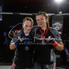 Sophie-Lee Williams vs Vanessa Jenkins S10 - Photos taken from the Wimp 2 Warrior Finale Series 10 at The Norths in Cammeray at the 6th of December 2019