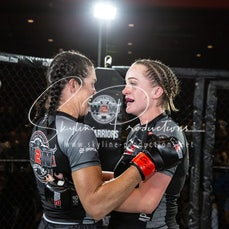 Beverley Schultz vs Gillian Cox S10 - Photos taken from the Wimp 2 Warrior Finale Series 10 at The Norths in Cammeray at the 6th of December 2019