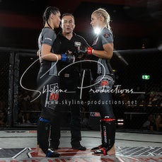 Danika De Palo vs Tina Lucey S10 - Photos taken from the Wimp 2 Warrior Finale Series 10 at The Norths in Cammeray at the 6th of December 2019