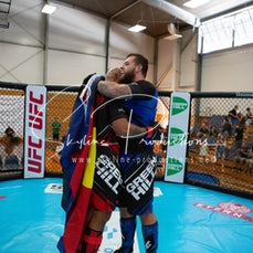 Alchin vs Lutu - Oceania Open Championship MMA from the 6-8th of March at the Gold Coast, Recreation Centre Palm Beach