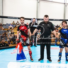 Fumo vs Adil - Oceania Open Championship MMA from the 6-8th of March at the Gold Coast, Recreation Centre Palm Beach