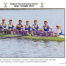 ACGS Rowing Crews 2019