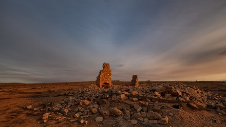Flinders Ranges Ruins - As time goes by the elements take their toll