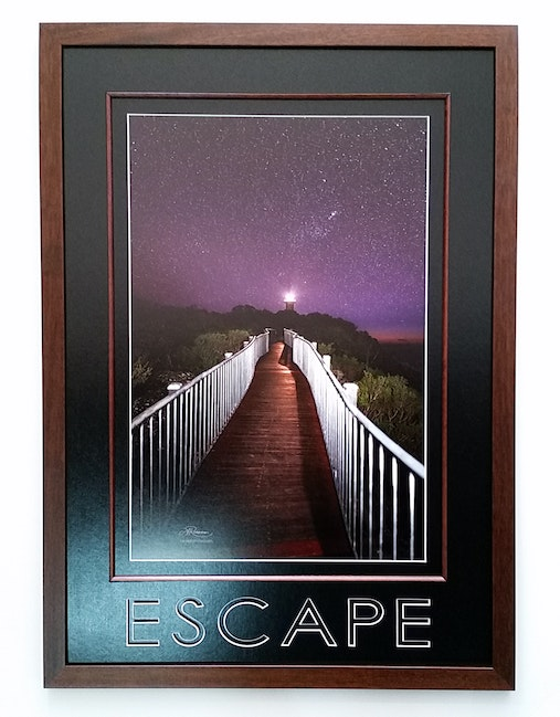 Escape framed