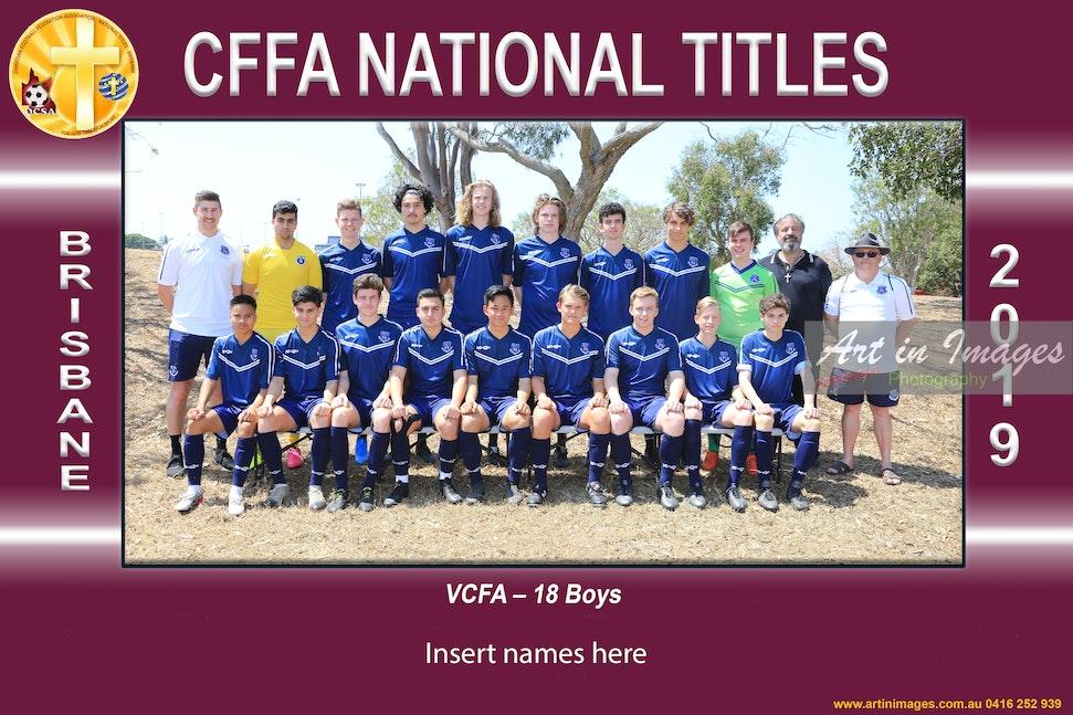 2019 VCFA - 18 Boys