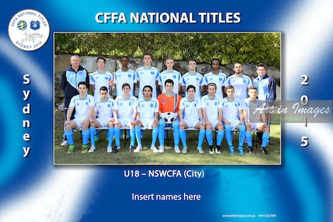 2015 U18 NSWCFSA CITY x18