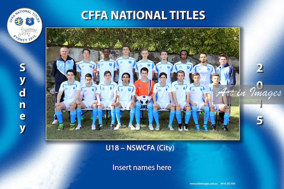 2015 U18 NSWCFSA CITY x18