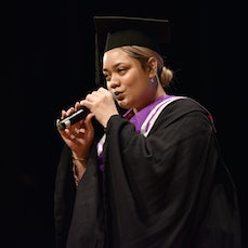 Graduation Ceremony - This is the graduation ceremony for the Academy of Music and Performing Arts, July 5, Tom Mann Theatre
