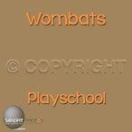 Wombats Playschool