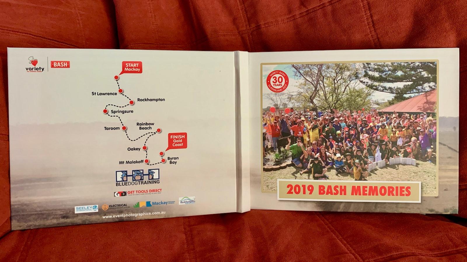 2019 Qld Variety Bash Book