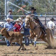 BREAKAWAY ROPING - FIRST SESSION