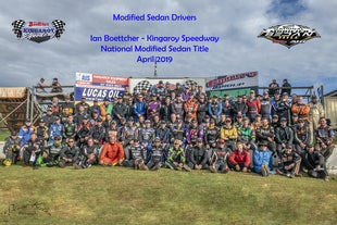KINGAROY SPEEDWAY MODIFIED & MODLITE TITLES - APRIL 2019