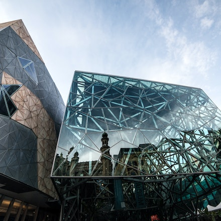 Fed Square Reflections