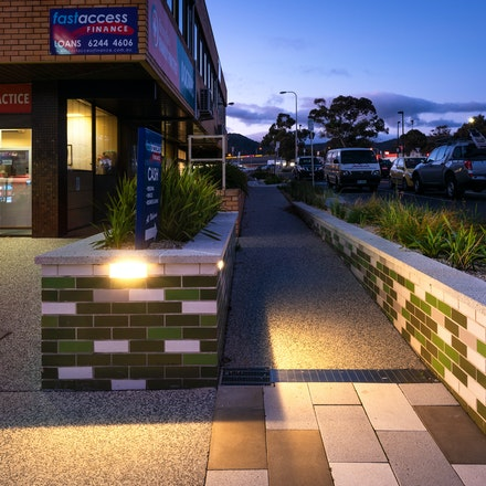 Bayfield Street Rosny Park - Bayfield Street Rosny Park, Tasmania. Landscape architecture by Urban Initiatives