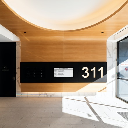 Office Building Foyer, Dandenong - Office Building Foyer upgrade in Dandenong by CLP Architecture