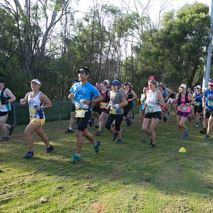Knapsack Lap Race – Race 2 - Start - Start