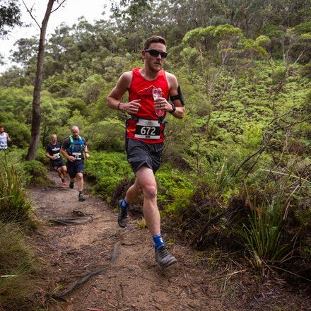 1km mark approx - Wentworth Falls – Race 4 Short Course - 2019