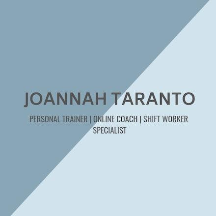 Joannah Taranto - Online Coach