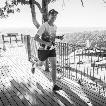 No Bib Visible - Glenbrook Marathon