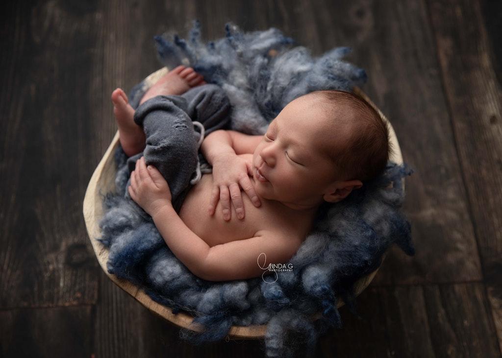 sydney, newborn, photography, studio, LindaGPhotography