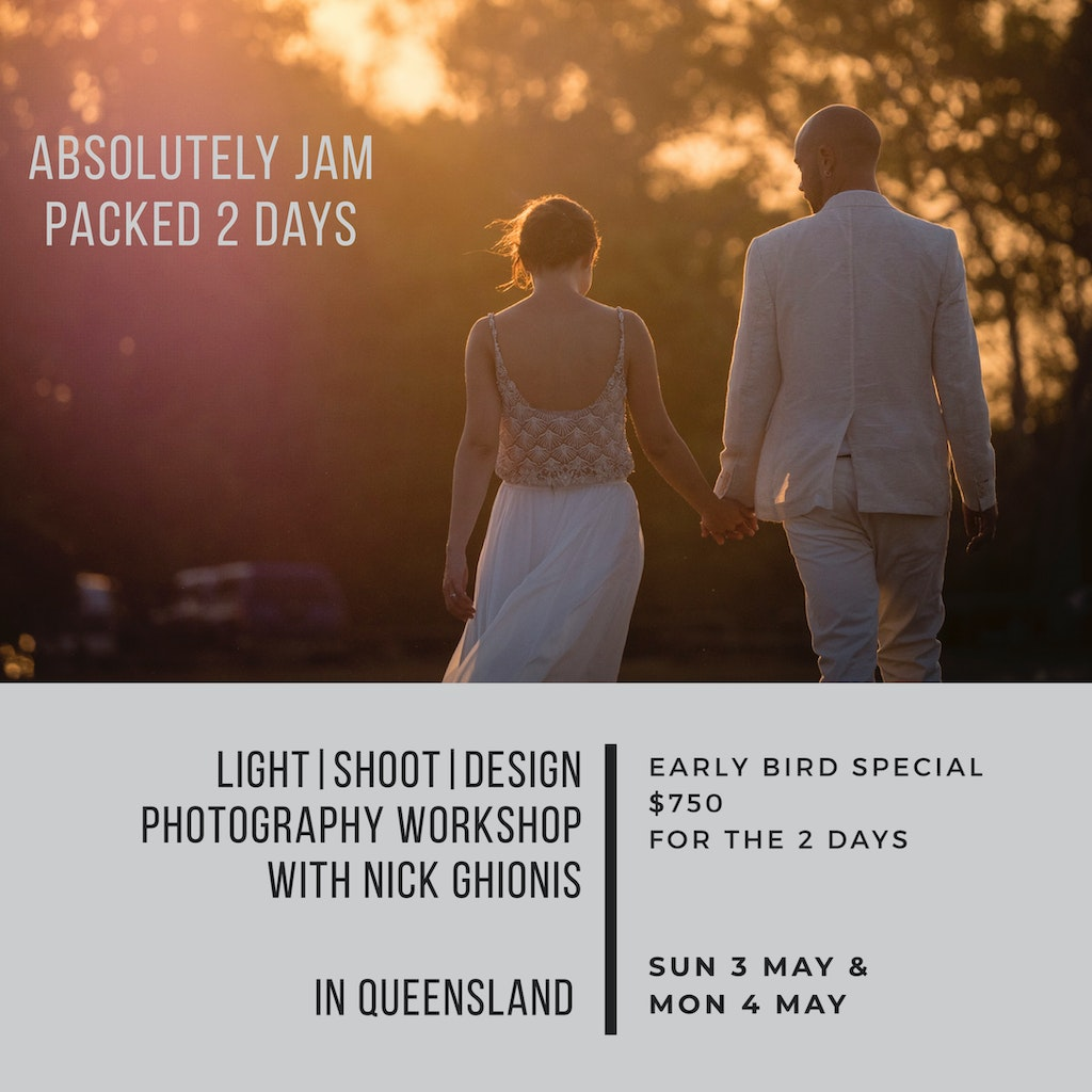 LightShootDesign Photography workshop With nick Ghionis