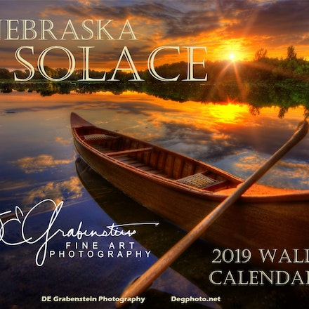 Nebraska Solace - 2019 Wall Calendar - Pre-Orders on my 2019 Wall Calendar.  Full of some of my favorite images that remind me of the quiet moments I've...