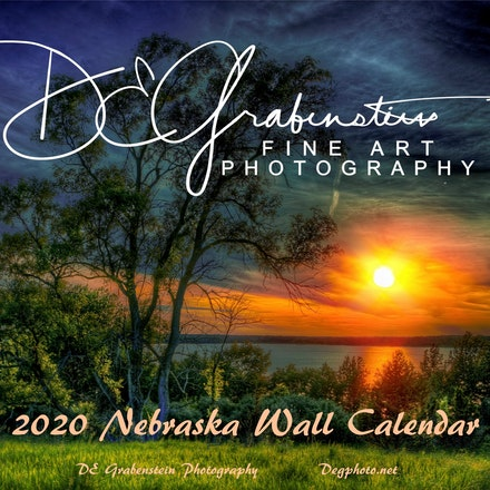Nebraska - 2020 Wall Calendar - My 2020 Nebraska Wall Calendar.....Full of some of my favorite images that remind me of the quiet moments I've experienced...
