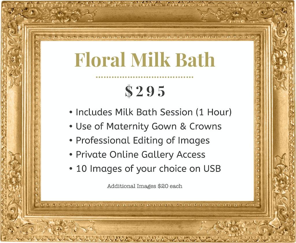 Floral Milk Bath GF