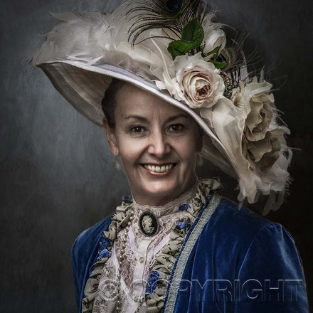 Fashion Portrait - Blue Mountains Fashion Photography.