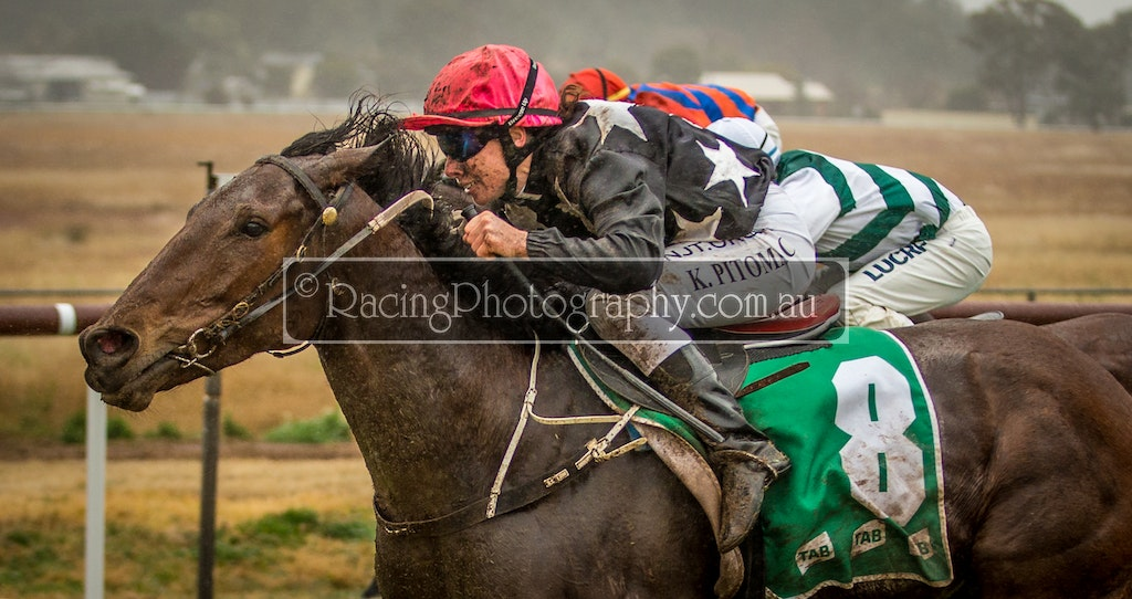 25 Jul 2020 R2-15 - 25th July 2020 - Coonabarabran Jockey  Club - Race 2, Maiden Plate, 1200m - 1st, Resetting Edge, Kath Bell-Pitomac / Wayne Martyn