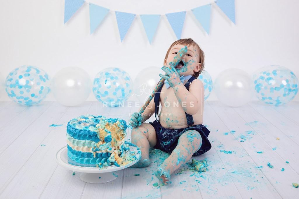 North Brisbane Cake Smash Photography 8