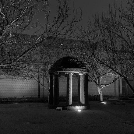 Rotunda - Bendigo Art Gallery - BW01