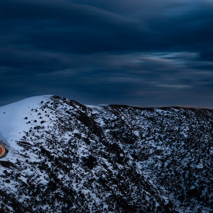Mount Hotham in Blue 01