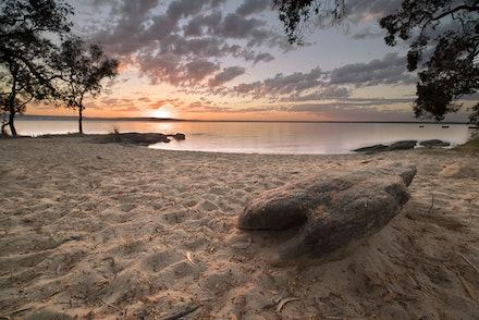 Boreen Point sunrise