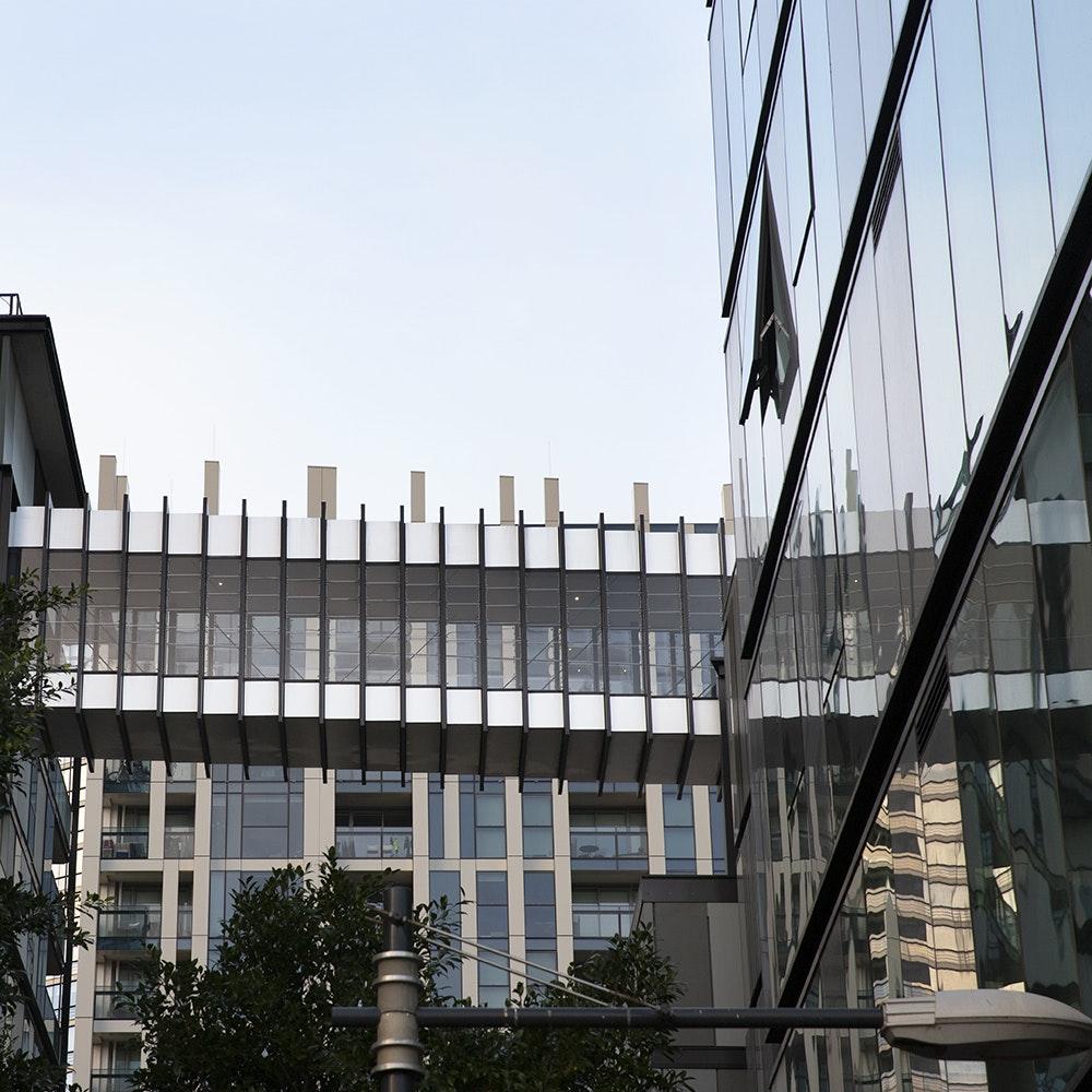 Docklands Apartment Walkway