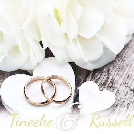 Tineeke & Russell - Images of Tineeke Hopper and Russell Tucker's wedding ceremony.