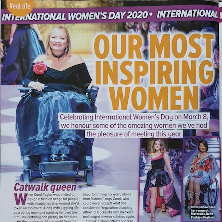 Woman's Day March 2020 - Carol Taylor Women's Day most inspiring