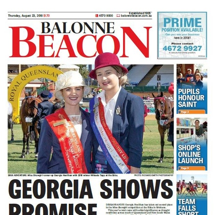 Balonne Beacon - Ekka-2018-Miss-ShowGirl