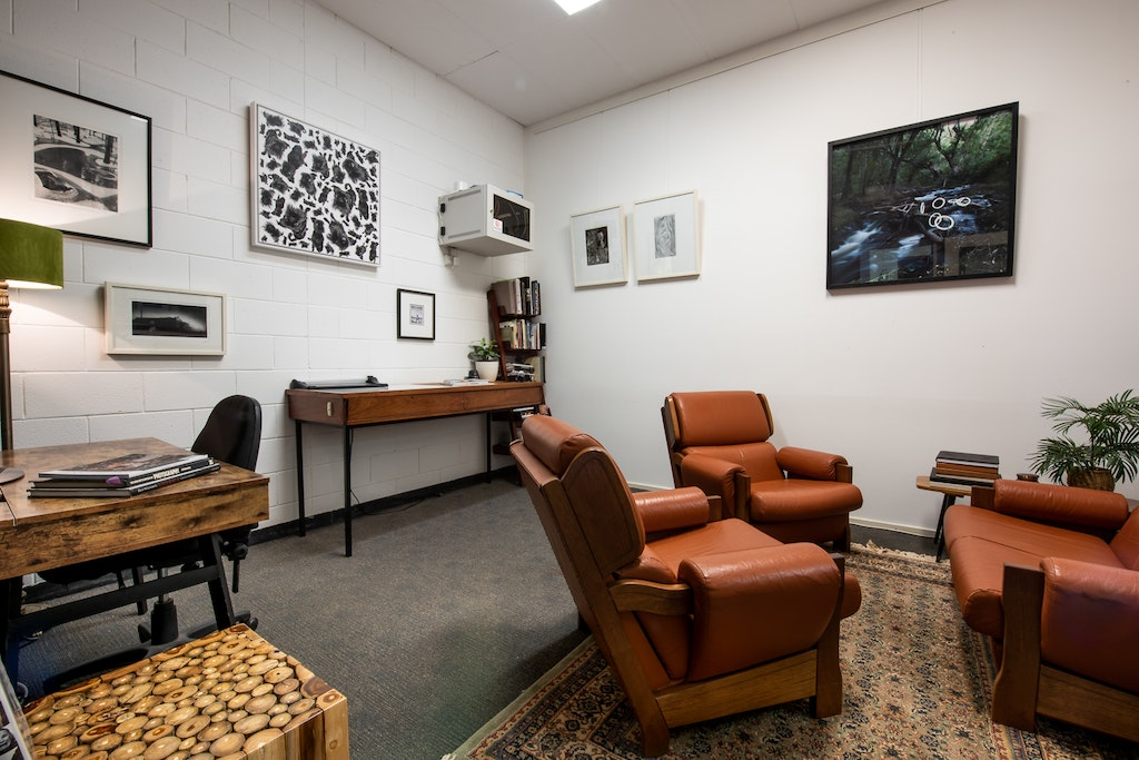 CogHotDesk-9 - A fantastic private hot-desk and meeting room in a co-working creative space in Norwood, Adelaide. Located just out of the city, there is...