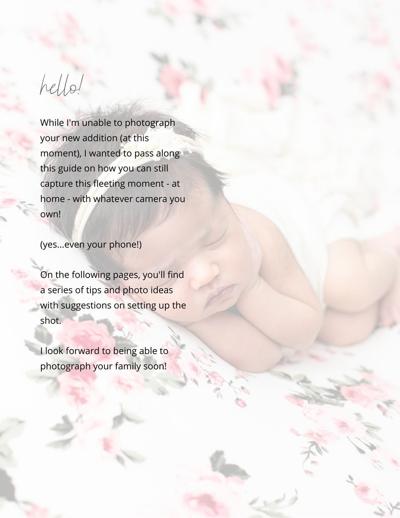 Photographing your baby at home - newborn baby Brisbane photographer